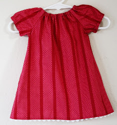 Baby Peasant Dress