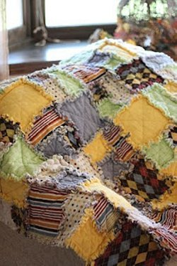 Baby Perfect Rag Quilt