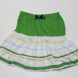 Irish Charm Ruffled Skirt