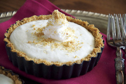 Mini Meyer Lemon Cream Pie
