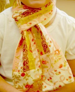 Bohemian Jelly Roll Scarf