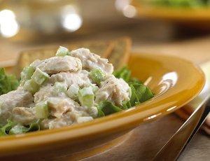 Picnic chicken salad sandwich recipe