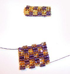 Two-Drop Peyote Beaded Beads