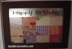 Personalized Magnetic Birthday Board
