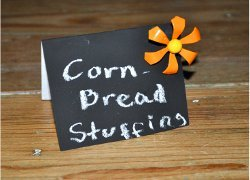 Custom Chalkboard Place Tags