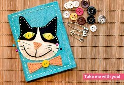 Felt Kitty Sewing Kit