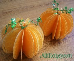 Decorative Paper Pumpkins