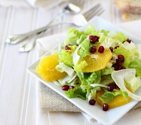 Refreshing Orange Summer Salad
