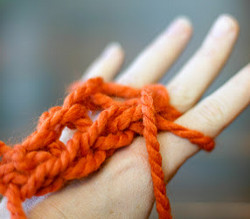 Learn How to Finger Knit