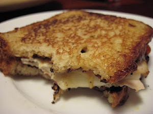 Parmesan Crusted Bacon and Pesto Grilled Cheese ...
