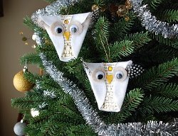 Super Cute DIY Owl Ornament