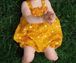 Adorable Baby Summer Sunsuit