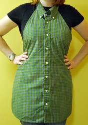 Men's Shirt Apron