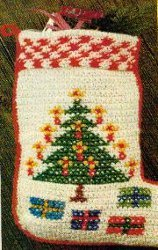 Tree of Light Stocking