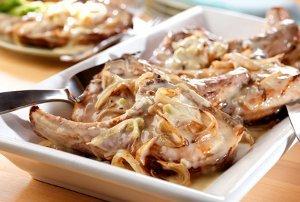 Glorified Onion Pork Chops