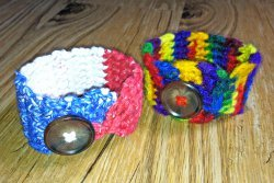 Crocheted Wrist Cuff