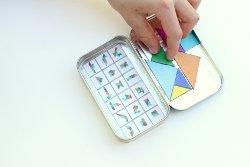 Geometric Rainbow Puzzle