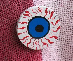 DIY Eyeball Pin
