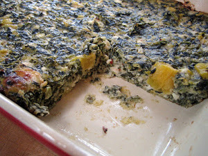 Spinach and Cheese Brunch Bake