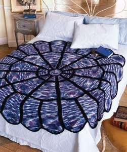 Round Stained Glass Afghan