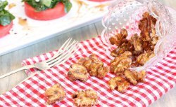 Easy Spiced Candied Walnuts