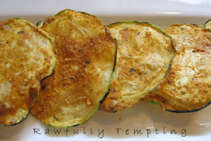 Spicy BBQ Zucchini Chips