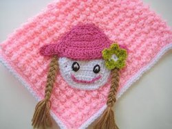 Baby Doll Crochet Blanket