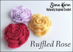 Ruffled Rose Pattern