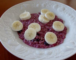 Purple Oatmeal