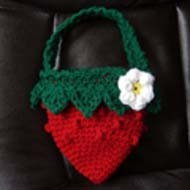 Strawberry Crochet Bag