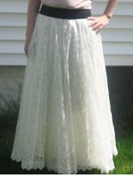 Old Dress Into a Maxi Skirt