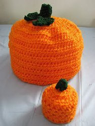 Small and Large Pumpkin Boxes