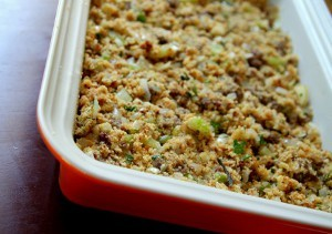 Southern Comfort Sausage and Cornbread Dressing