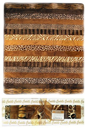 Animal Print Cuddle Quilt Kit Favequilts Com