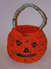 Recycled Trick or Treat Bag