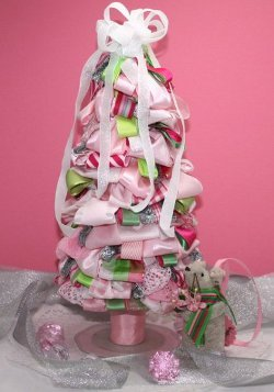 Sweet and Colorful Ribbon Tree