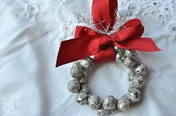 Glittery Jingle Bell Wreath
