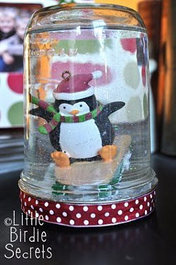 Outdoor Christmas Penguin Decorations