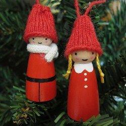 Adorable Christmas Kids Ornaments
