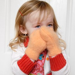 Cashmere Mittens for Kids