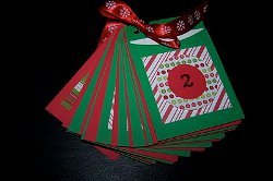 Pocket Paper Advent Calendar
