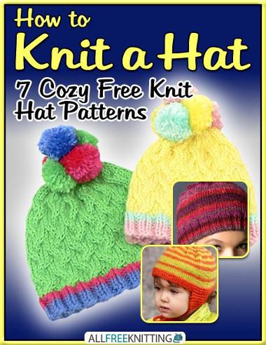 Knitting Pattern Books Free Download : Candy Crush Beanie Pattern AllFreeKnitting.com