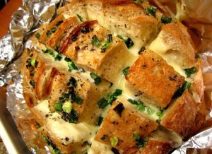 Pull-Apart Cheesy Party Bread