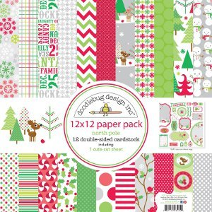 North Pole Cardstock Assortment