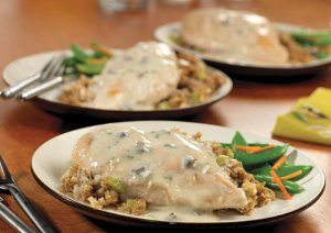 One Dish Chicken Amp Stuffing Bake Recipelion Com
