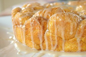 Pumpkin Pull-Apart Monkey Bread
