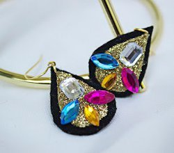 Baroque Gem Earrings