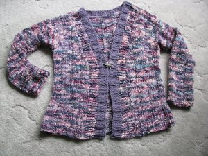Berry Crumble Cardigan