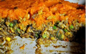 Indian Inspired Shepherd's Pie