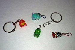 Mini Squinkies Keychains